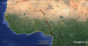 14 ---route so far 27th Mar 1(1)
